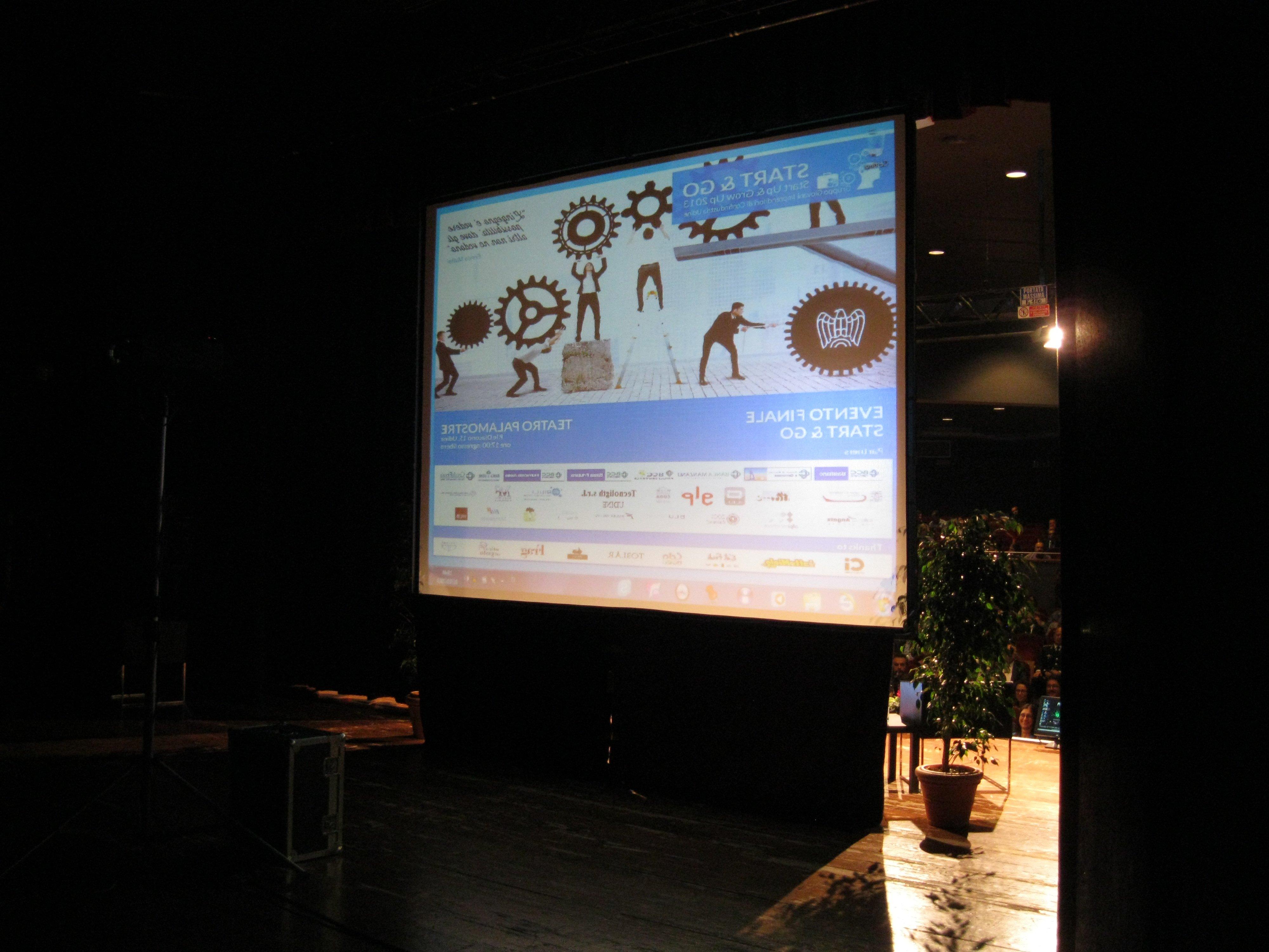 videoconferenza con proiezione
