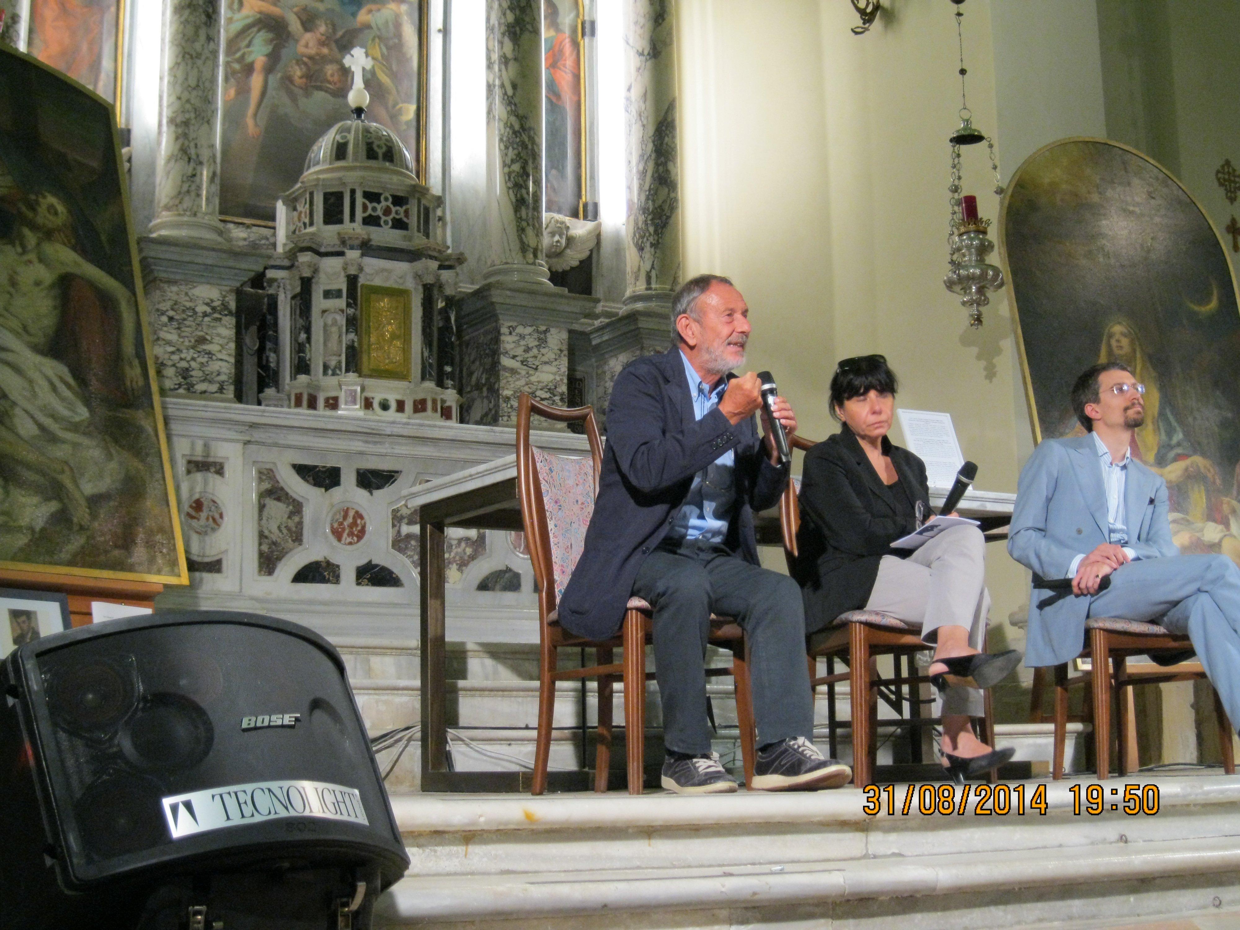 seminario all interno di una chiesa