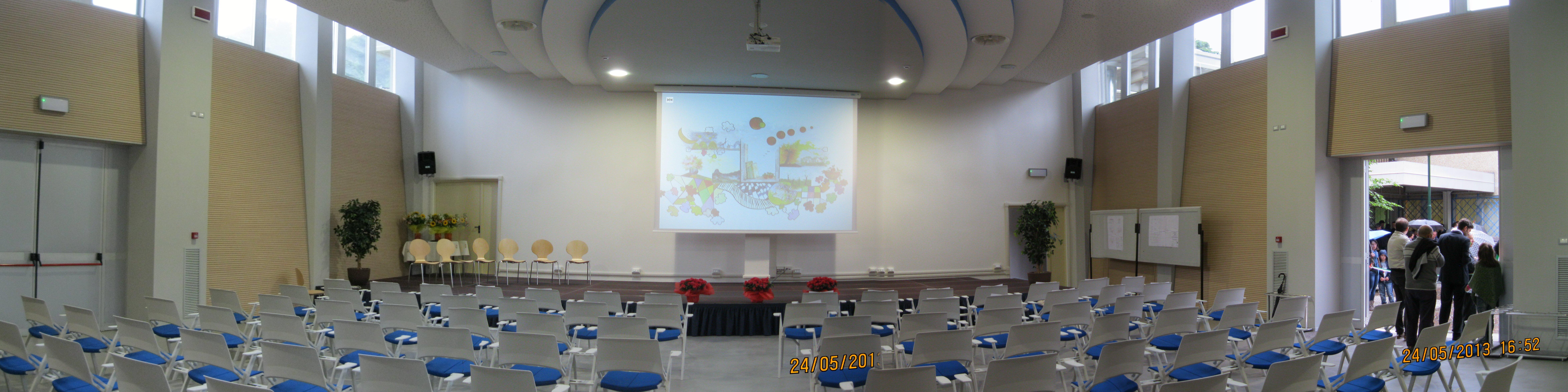 grande sala per conferenze