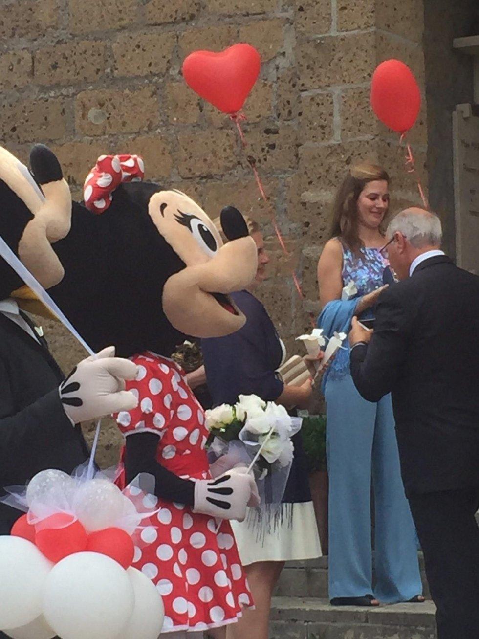 Palloncini e Mascotte per cerimonie