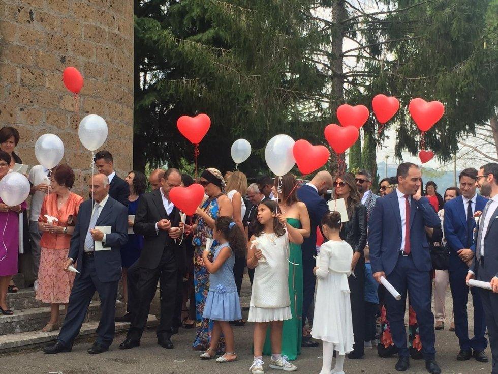Palloncini per matrimoni