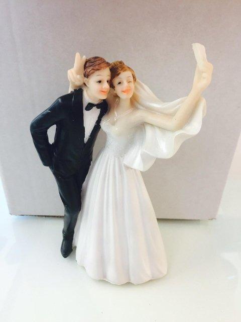 topper sposi per torte di matrimonio