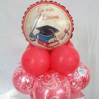 Centrotavola palloncini laurea
