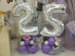 Allestimento anniversari di matrimoni