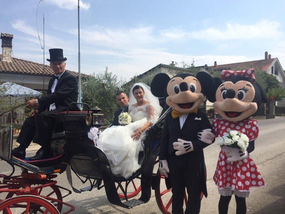 Mascotte Disney