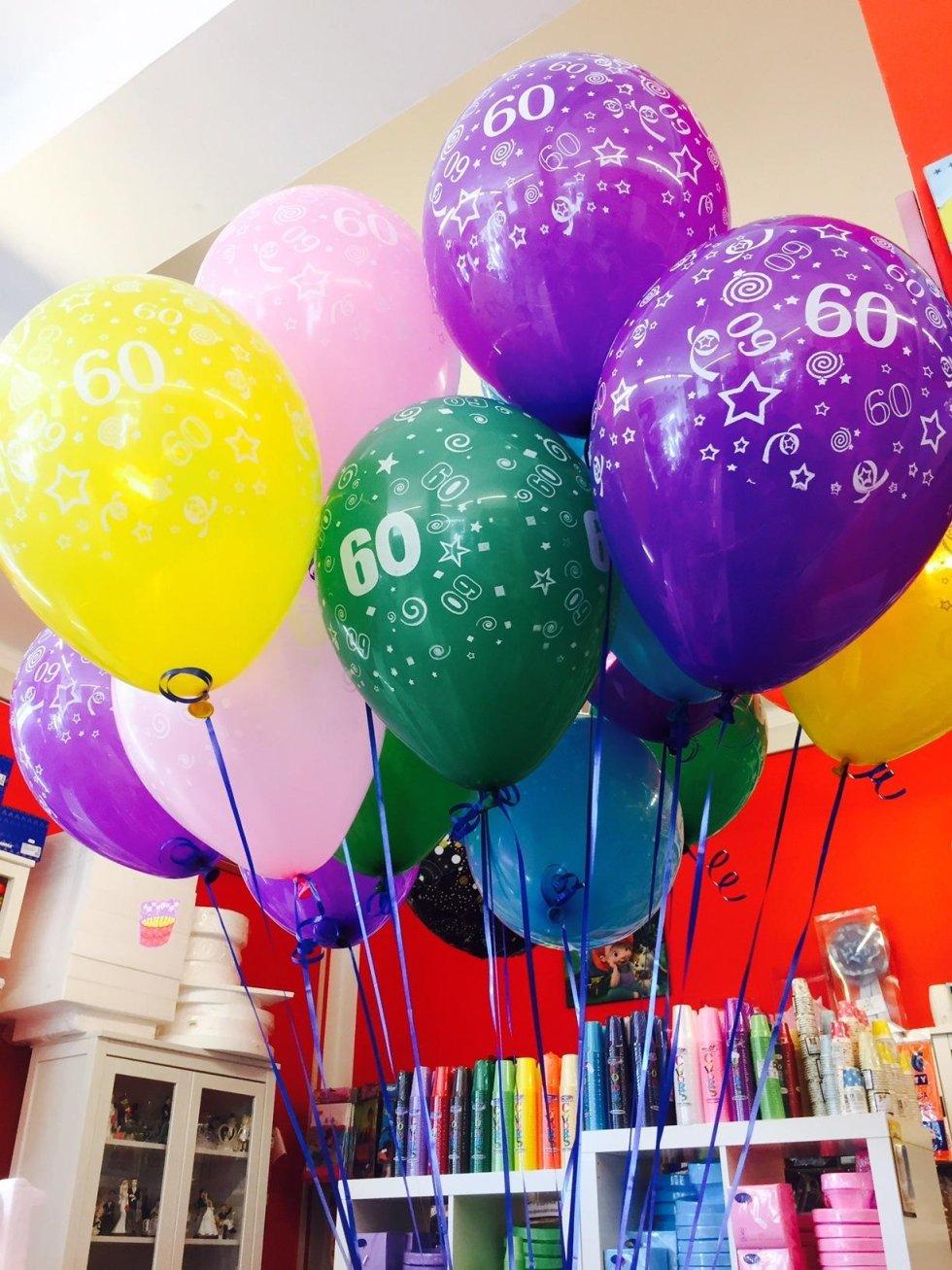 Palloncini 60 anni