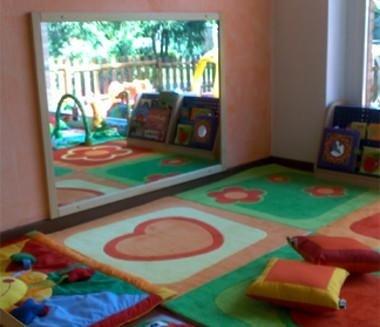 spazio lettura per bambini