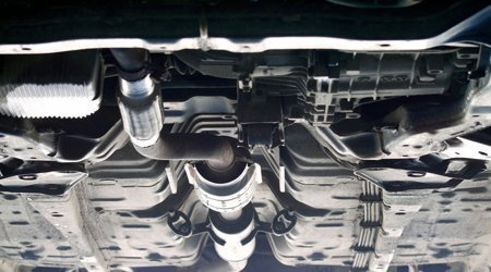 Car exhaust system fitting