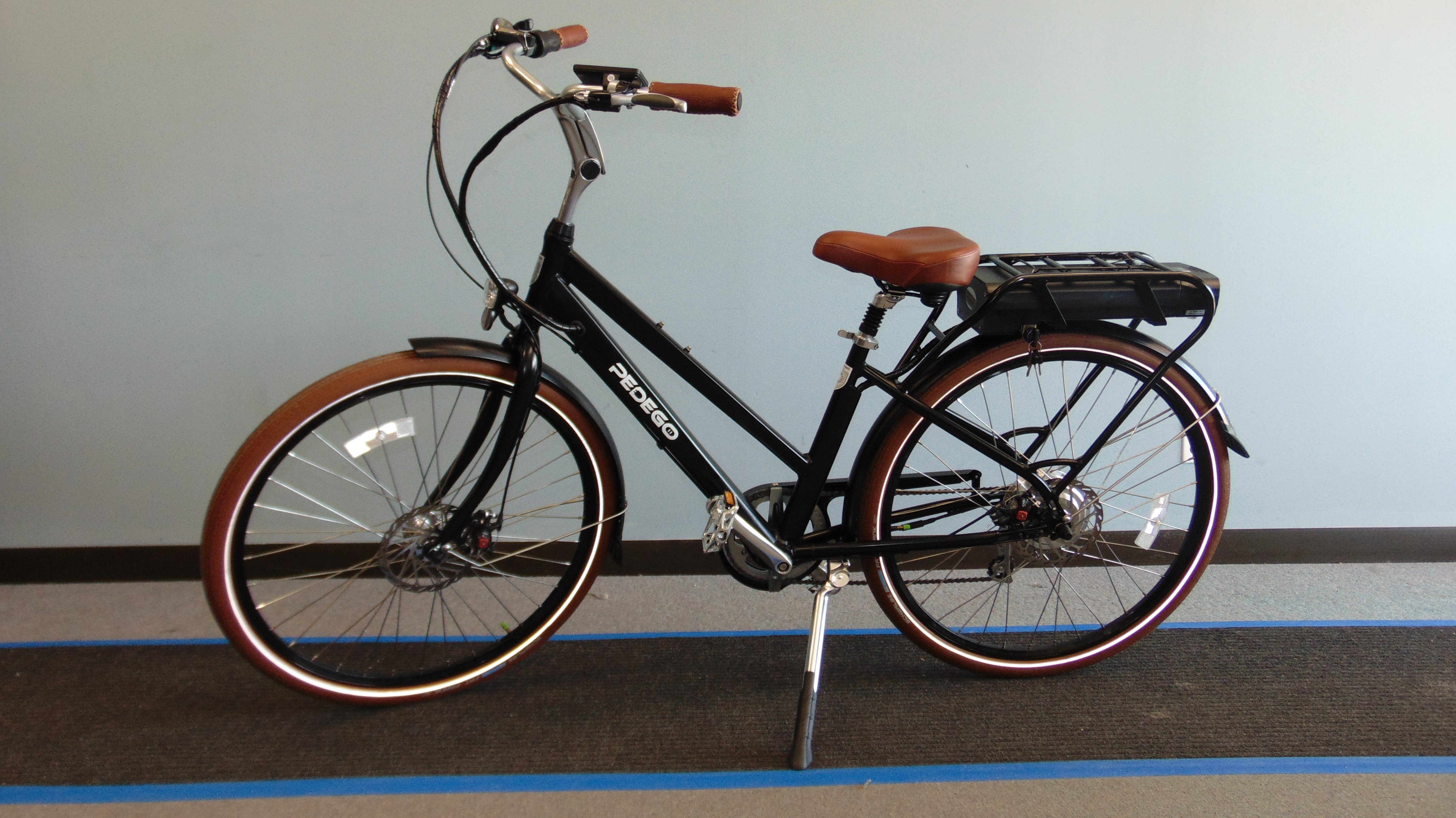 pedego city commuter electric bicycle. Black Bedroom Furniture Sets. Home Design Ideas