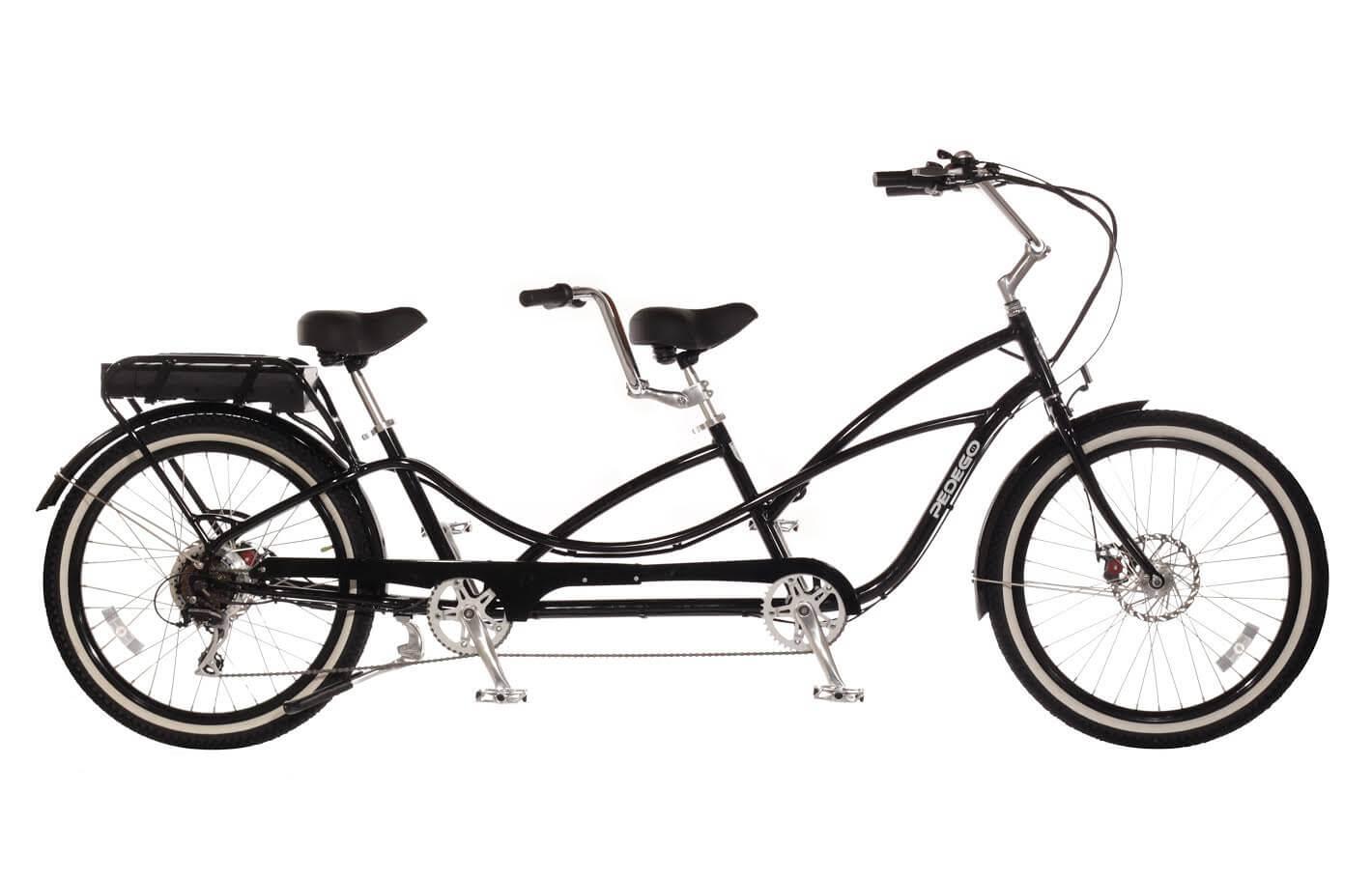 pedego tandem cruiser electric bicycle. Black Bedroom Furniture Sets. Home Design Ideas