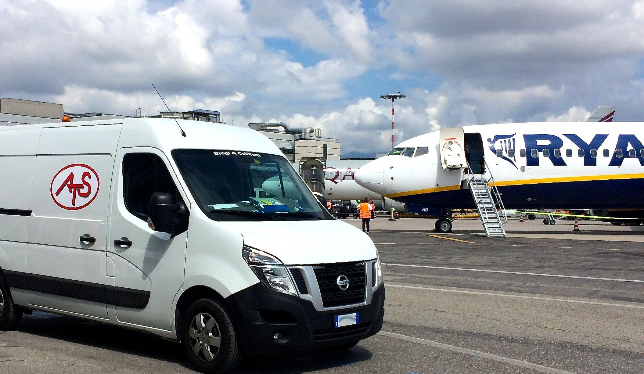 servizi di manutenzione aeropuortale