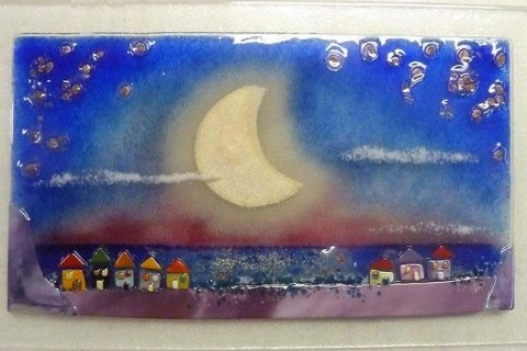 paesaggino notturno sul mare