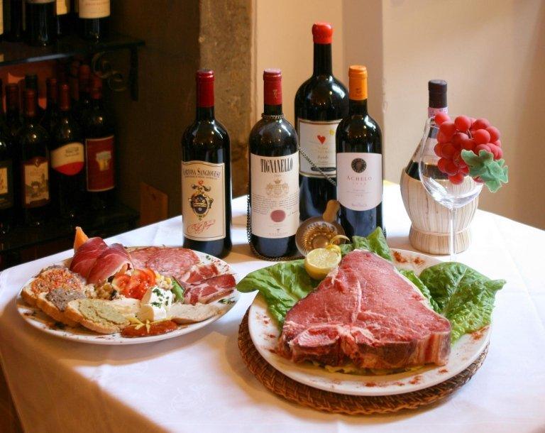 Bistecca di Chianina alla fiorentina Cortona