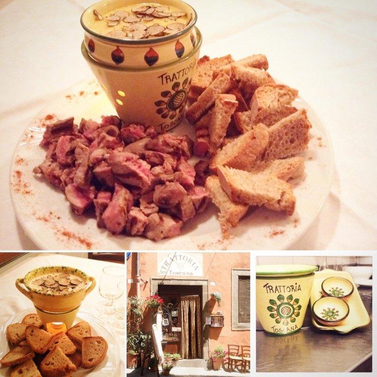 Specialità di carne alla griglia Cortona