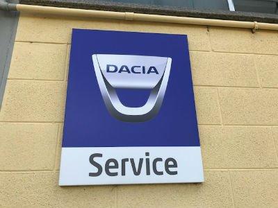 Dacia service - logo