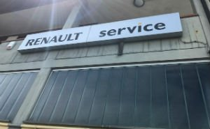Renault service - logo