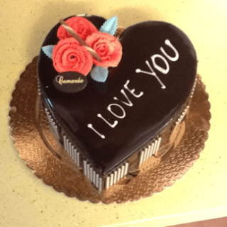 torta a forma di cuore, torta cioccolato, cioccolato fondente