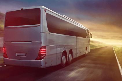 huge bus