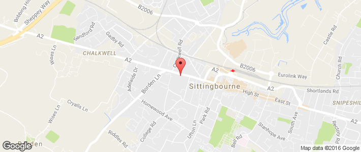 MOT testing - Sittingbourne, Kent - Kar Services - Map