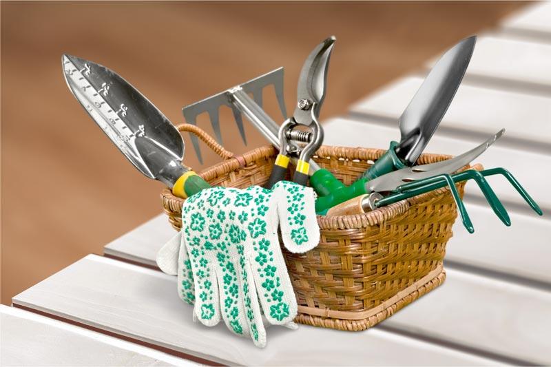 attrezzature da giardinaggio