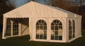 Weddings - Falkirk - Phoenix Marquees - Wedding Marquees - Exterior Marque