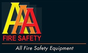 aaa fire safety business logo