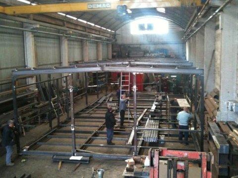 Azienda carpenteria metallica