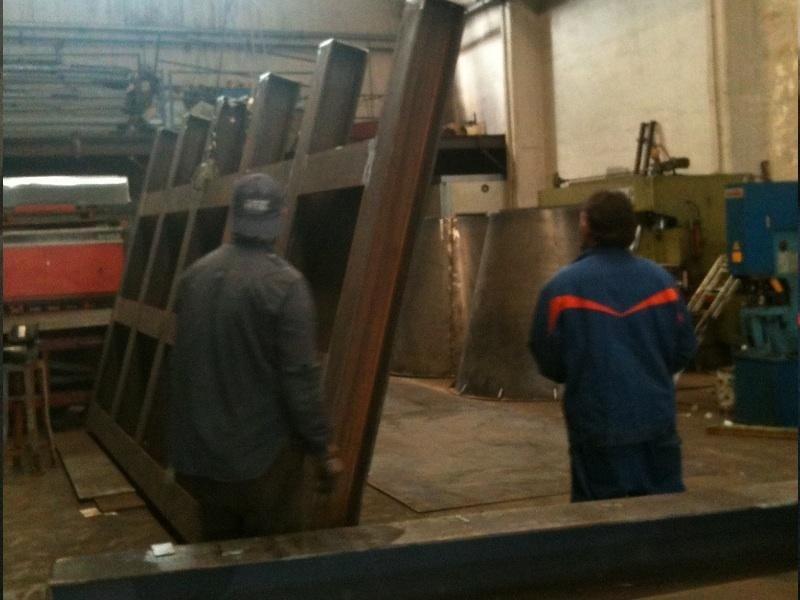 carpenteria metallica zincata