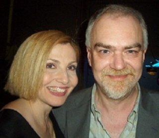Davico con Lorella Cuccarini
