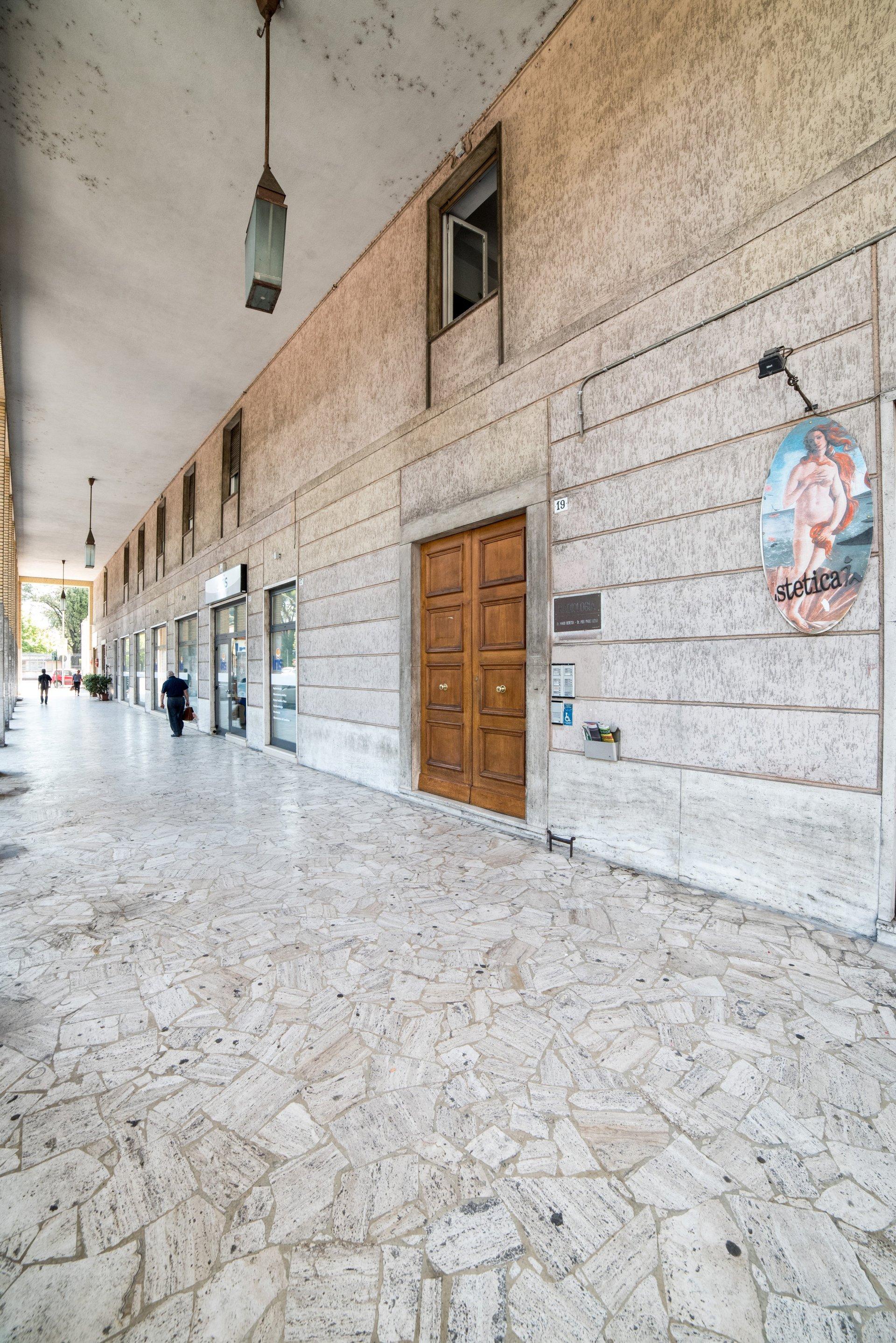 istituto radiologico beretta - ingresso studio medico