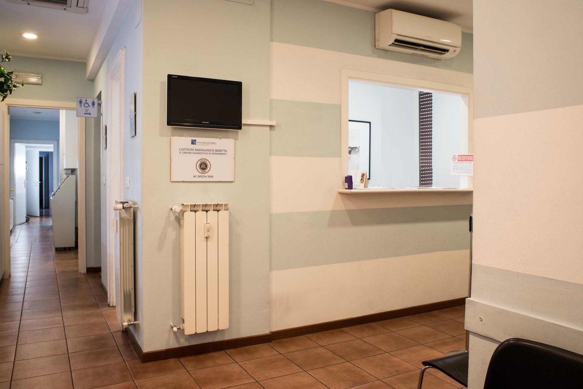 istituto radiologico beretta - i locali