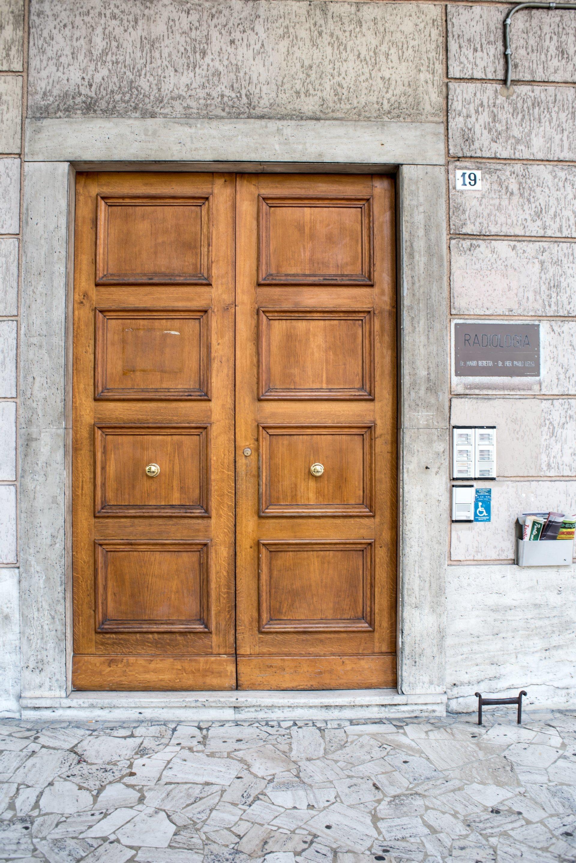 istituto radiologico beretta - ingresso
