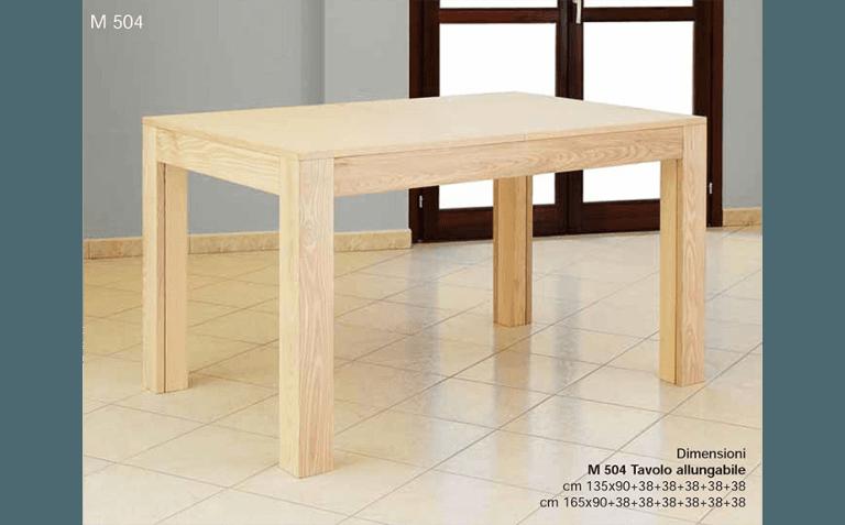 tavoli bordo legno