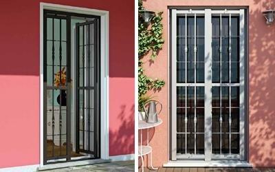 grate porte finestre