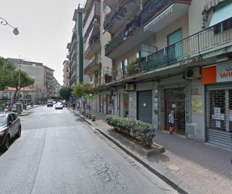 Vista di Via Posidonia a Salerno