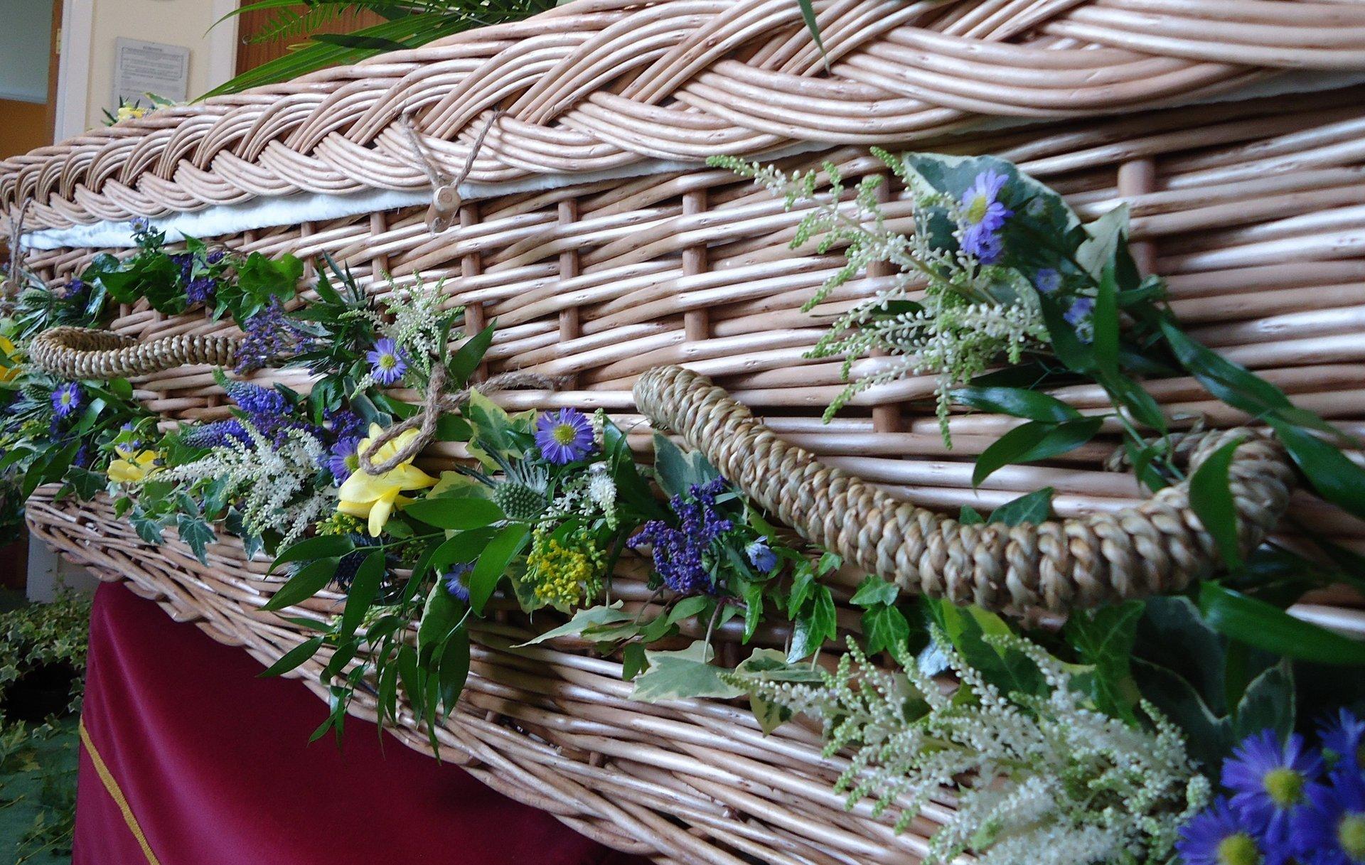 floral basket