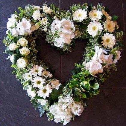 heart shape flowers