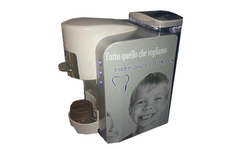 Macchina da caffè personalizzata studio dentistico