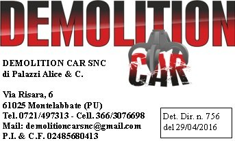 DEMOLITION CAR-LOGO