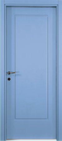 una porta azzurra