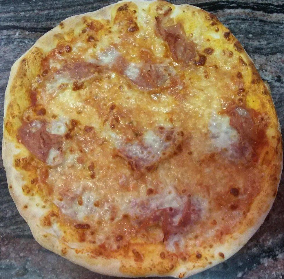 pizza prosciutto cotto aosta