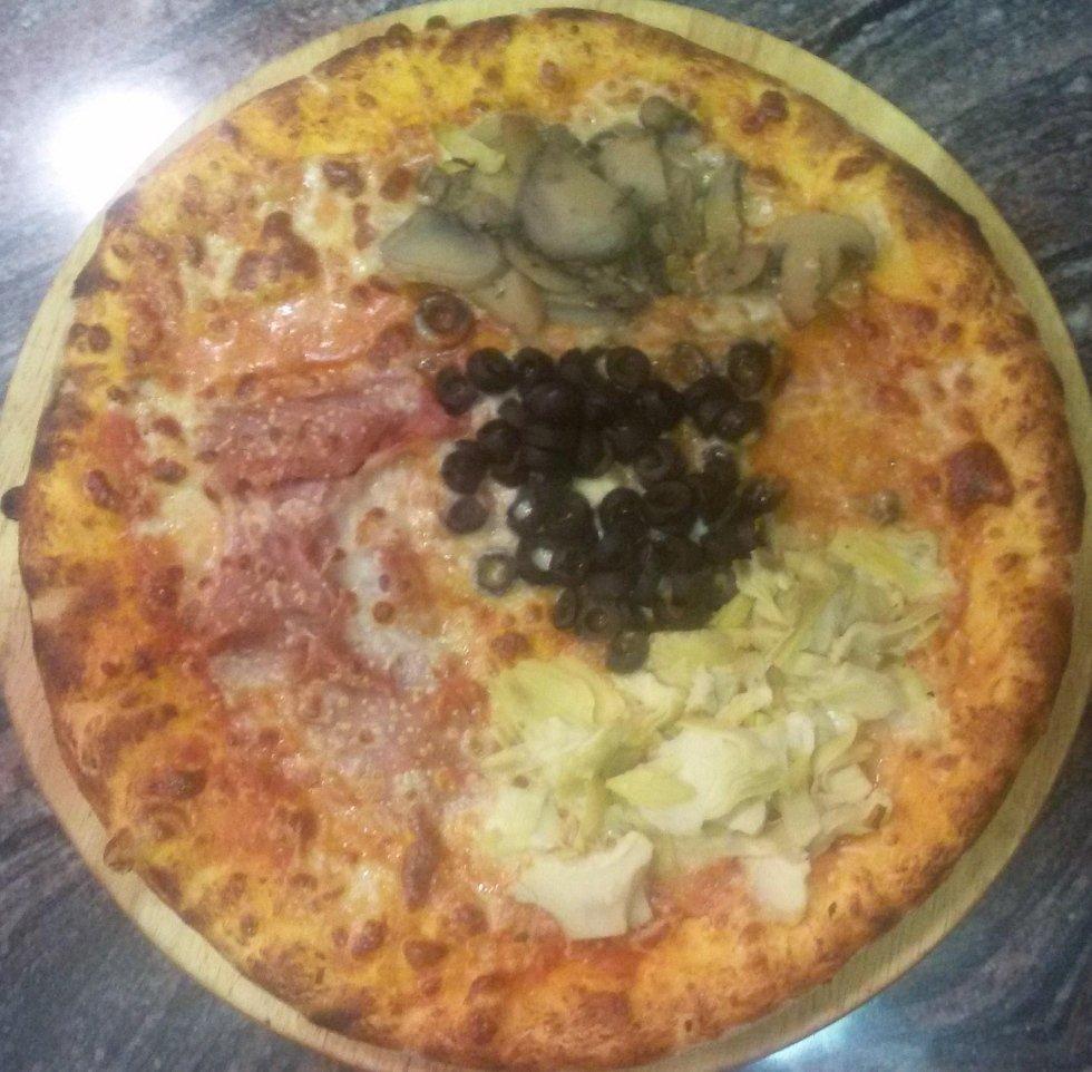 pizza quattro stagioni aosta