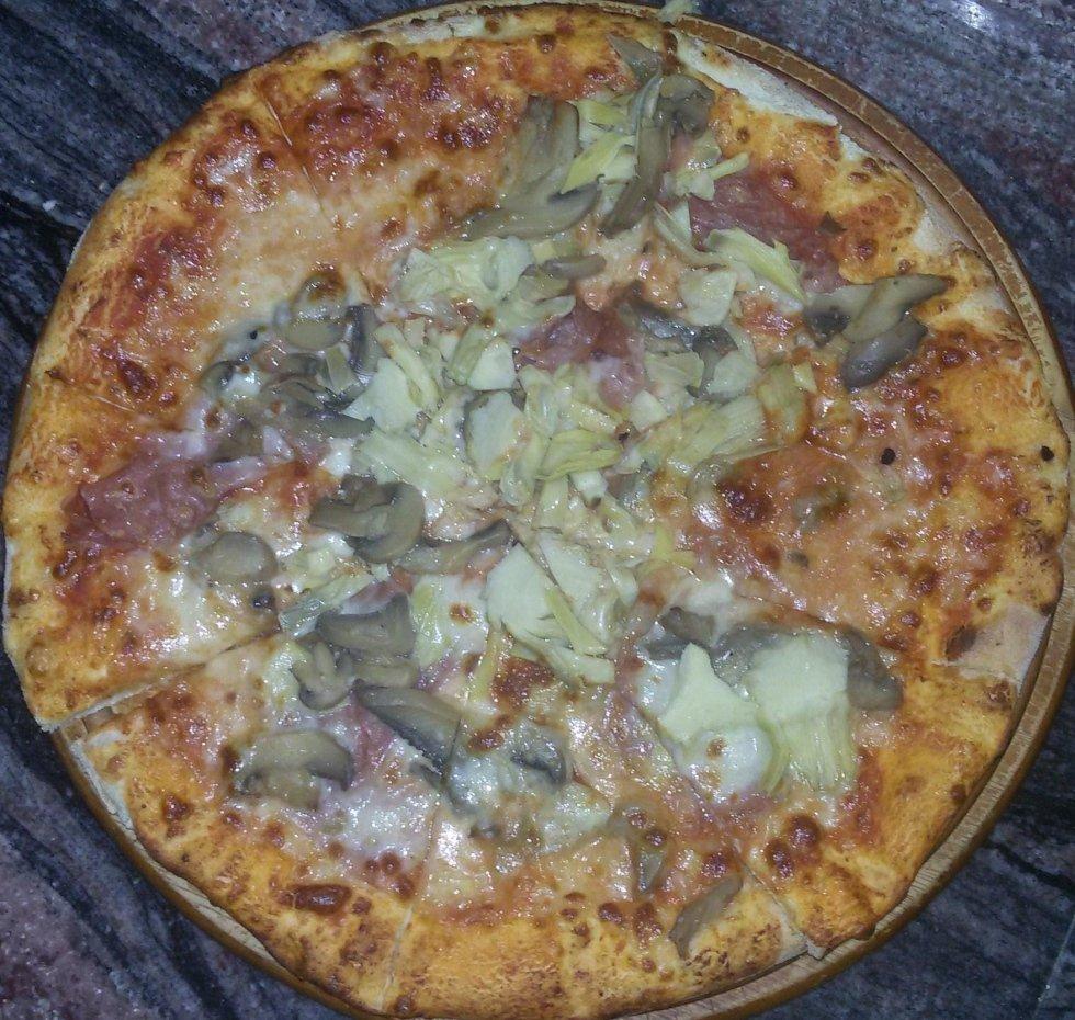 pizza capricciosa aosta