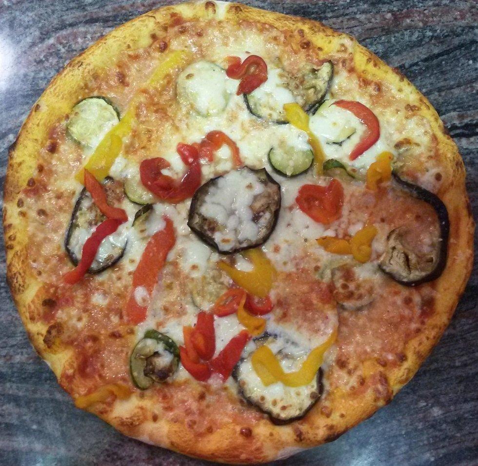 pizza vegetariana aosta
