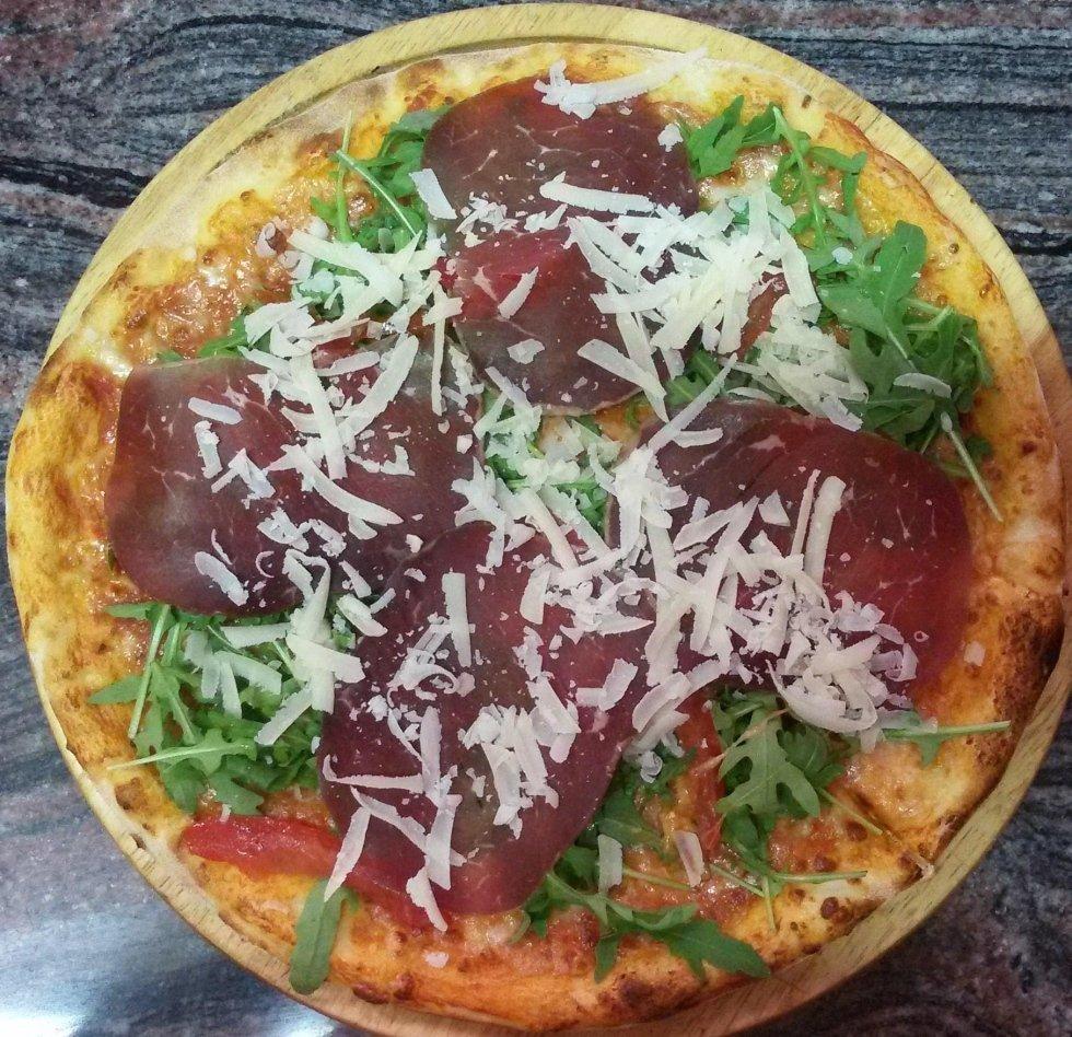 pizza contadina aosta
