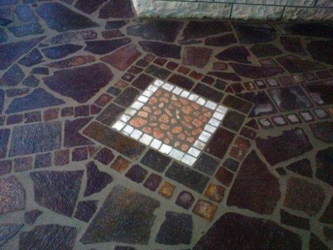 realizzazione decori per pavimenti