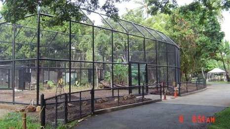 Fencing service for park provided by our team in Waipahu, HI