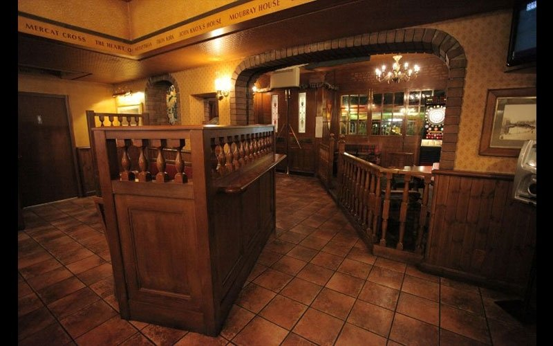 salone del pub birreria