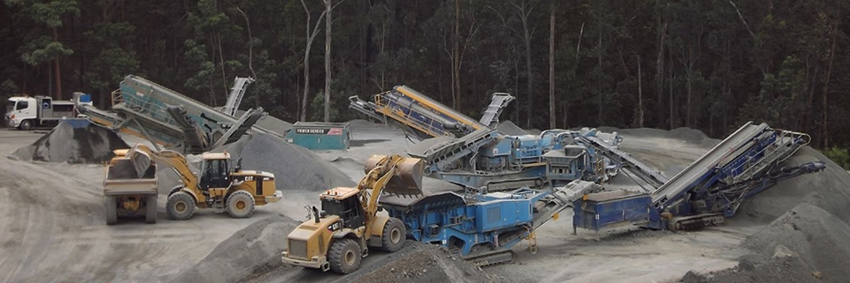 mclennan earth moving quarry products