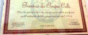 Frantoio dei cinque colli Società Cooperativa agricola a Lucignano